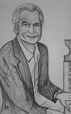 Dave Drawing - Brubeck by Pete Maier