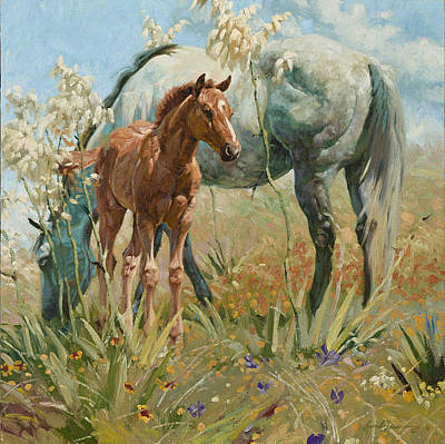 Digital Art - Springtime On The Llano Estacado  by Bruce Greene