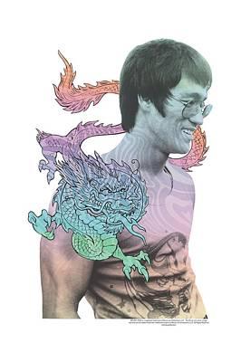 Bruce Lee Digital Art - Bruce Lee - A Little Bruce by Brand A