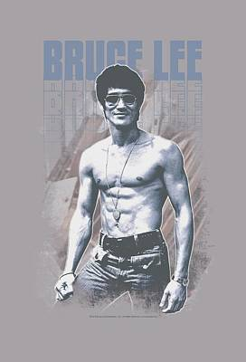 Bruce Lee Digital Art - Bruce Lee - Blue Jean Lee by Brand A