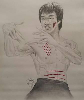 Bruce Lee Art Print by DMo Herr