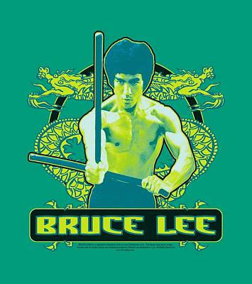 Bruce Lee Digital Art - Bruce Lee - Double Dragons by Brand A