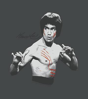 Bruce Lee Digital Art - Bruce Lee - Final Confrontation by Brand A