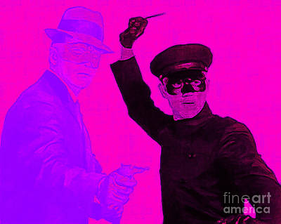 Bruce Lee Kato And The Green Hornet 20130216m88 Art Print by Wingsdomain Art and Photography