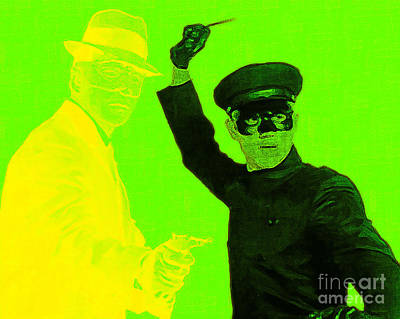 Kung Fu Digital Art - Bruce Lee Kato And The Green Hornet 20130216p54 by Wingsdomain Art and Photography