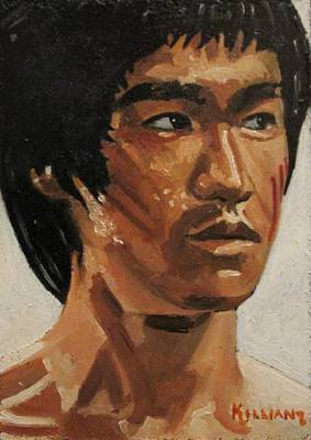 Bruce Lee Art Print by Patrick Killian