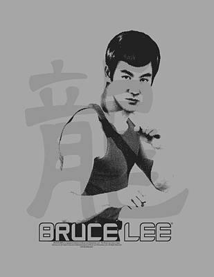 Bruce Lee Digital Art - Bruce Lee - Punch by Brand A