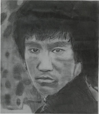Drawing - Bruce Lee by Terence Leano