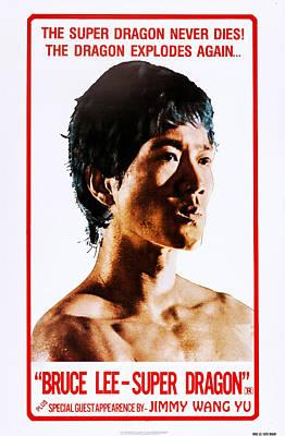 Bruce Li, Super Dragon, Us Poster Art Art Print by Everett