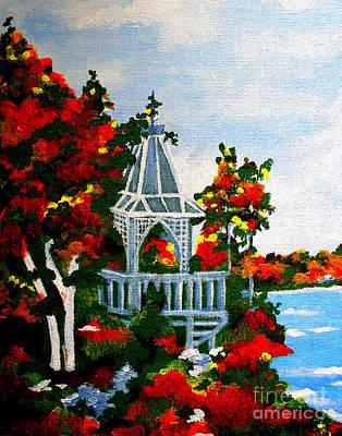 Sudbury Painting - Bruce Peninsula by Vinita C