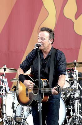 Bruce Springsteen Photograph - Bruce Springsteen 12 by William Morgan