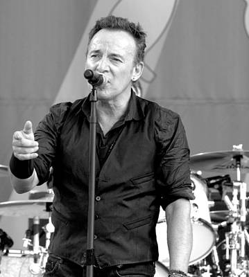 Bruce Springsteen Photograph - Bruce Springsteen 13 by William Morgan