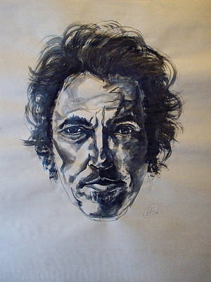 Bruce Springsteen Art Painting - Bruce Springsteen by Dan Engh