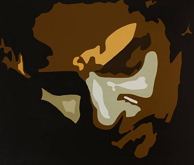 Bruce Springsteen Art Painting - Bruce Springsteen by Dennis Nadeau