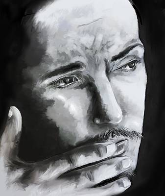 Bruce Springsteen Digital Art - Bruce Springsteen by Francesca Agostini