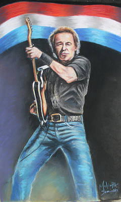 Bruce Springsteen  Original by Melinda Saminski