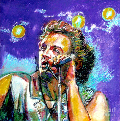 Painting - Bruce Springsteen by Stan Esson