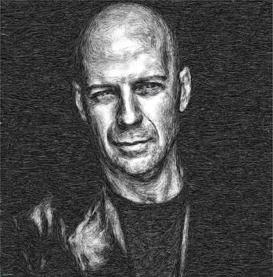 Bruce Willis Art Print