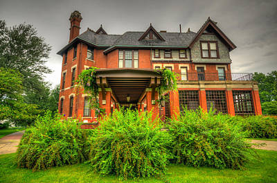 Photograph - Brucemore Mansion by Anthony Doudt