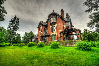 Photograph - Brucemore Mansion In Cedar Rapids by Anthony Doudt
