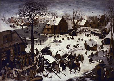 Painting - Bruegel Numbering, 1566 by Granger