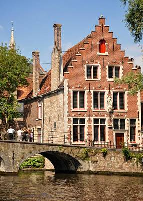 Bruges Architecture Original by Matt MacMillan