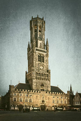 Bruges Belfort Art Print by Joan Carroll
