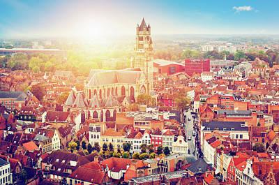 Bruges, Belgium Art Print by Artmarie
