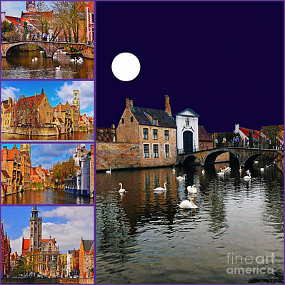 Photograph - Bruges Belgium by Elvis Vaughn