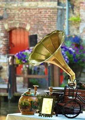Photograph - Bruges Phonograph by Matt MacMillan