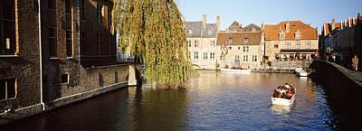 Belgium Photograph - Brugge Belgium by Panoramic Images