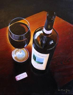 Italian Wine Painting - Brunello Di Montalcino by Jon Paul Price