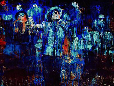 Sightseeing Digital Art - Bruno Mars - Uptown Funk 2 by Yury Malkov