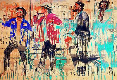 Sightseeing Digital Art - Bruno Mars - Uptown Funk 4 by Yury Malkov