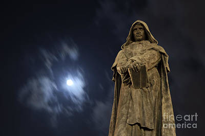 Giordano Bruno Photograph - Bruno The Heretic by Pierre Rochon
