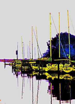 Photograph - Brunos Marina by Joseph Coulombe