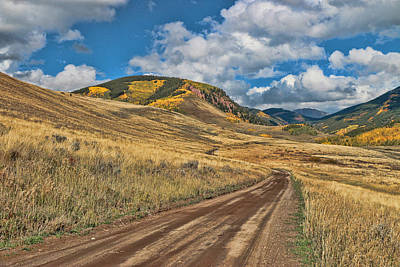 Photograph - Brush Creek Road by Allen Beatty