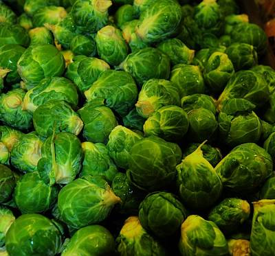 Photograph - Brussel Sprouts by Robert Habermehl