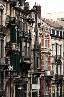 Photograph - Brussels Architecture by John Rizzuto