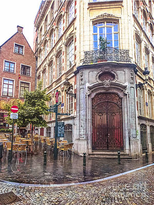 Photograph - Brussels Cafe by Stacey Granger