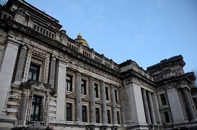 Photograph - Brussels Palais De Justice by Steven Richman