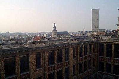 Belguim Wall Art - Photograph - Brussels' Skyline by Jennifer Kirkendall