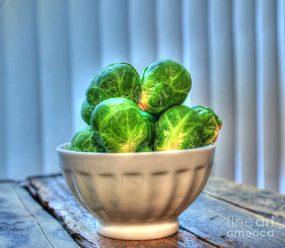 Brussels Sprouts II Art Print by Jimmy Ostgard