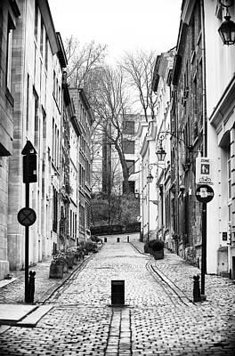 Photograph - Brussels Street Scene by John Rizzuto