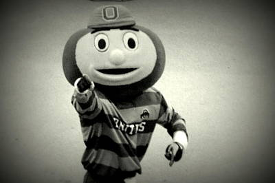 Brutus Photograph - Brutus The Buckeye by Ryan Johnson