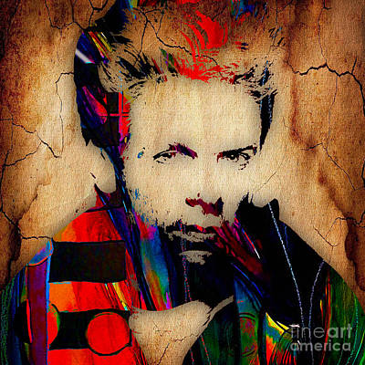 Rock And Roll Mixed Media - Bryan Adams Collection by Marvin Blaine