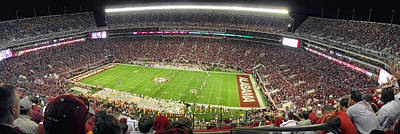 Bryant Denny Stadium Art Print by Georgia Fowler