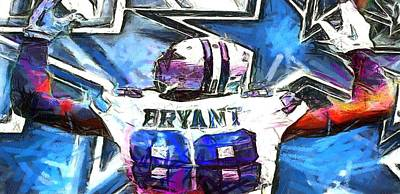 Digital Art - Bryant Iphone Case 2 by Carrie OBrien Sibley