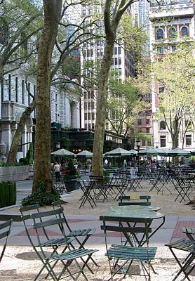 Photograph - Bryant Park by John Hintz