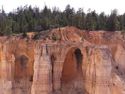 Photograph - Bryce Arches by Keith Stokes